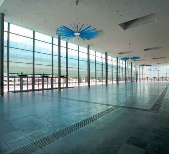Messe Wien Exhibition & Congress Center   Foyer D © Reed Messe Wien / G. Szuklits