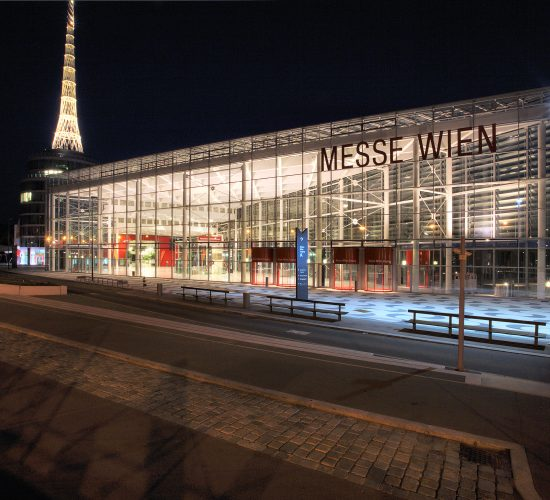 Messe Wien Eingang A © Reed Exhibitions / G. Szuklits